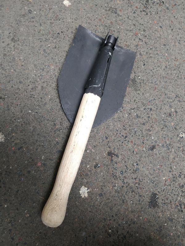 Лопата саперная раскладная