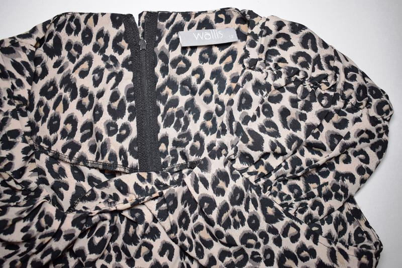 Красивое платье леопард wallis размер m - Фото 4