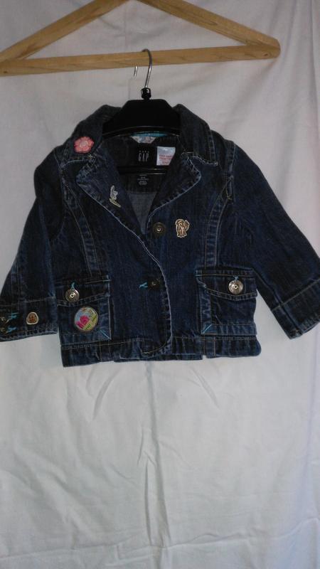 Супер классная детская джинсовая курточку (made in sri lanka )
