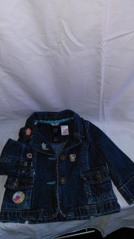 Супер классная детская джинсовая курточку (made in sri lanka ) - Фото 3