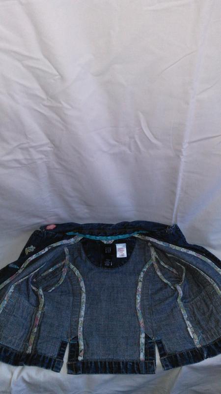 Супер классная детская джинсовая курточку (made in sri lanka ) - Фото 4