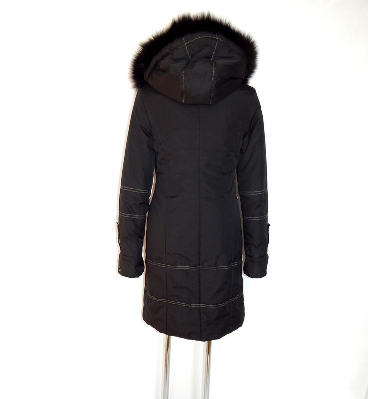 Длинное, зимнее пальто - Фото 3