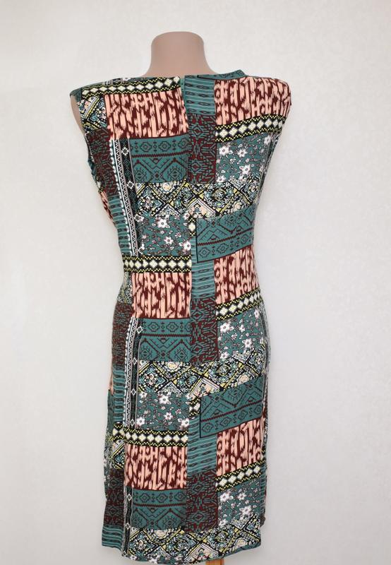 Летнее платье с натуральной ткани izabel london, вискоза - Фото 2