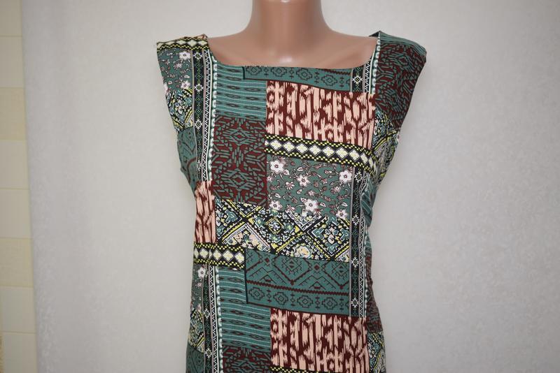 Летнее платье с натуральной ткани izabel london, вискоза - Фото 3