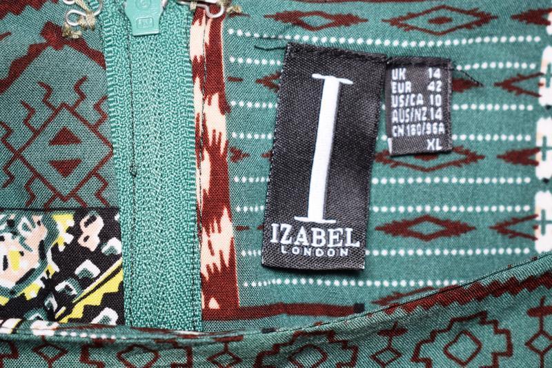 Летнее платье с натуральной ткани izabel london, вискоза - Фото 4