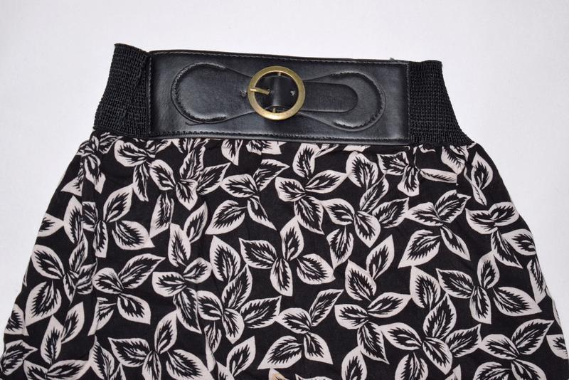 Длинная юбка с пояском вискоза peacocks uk 16, xxl - Фото 2