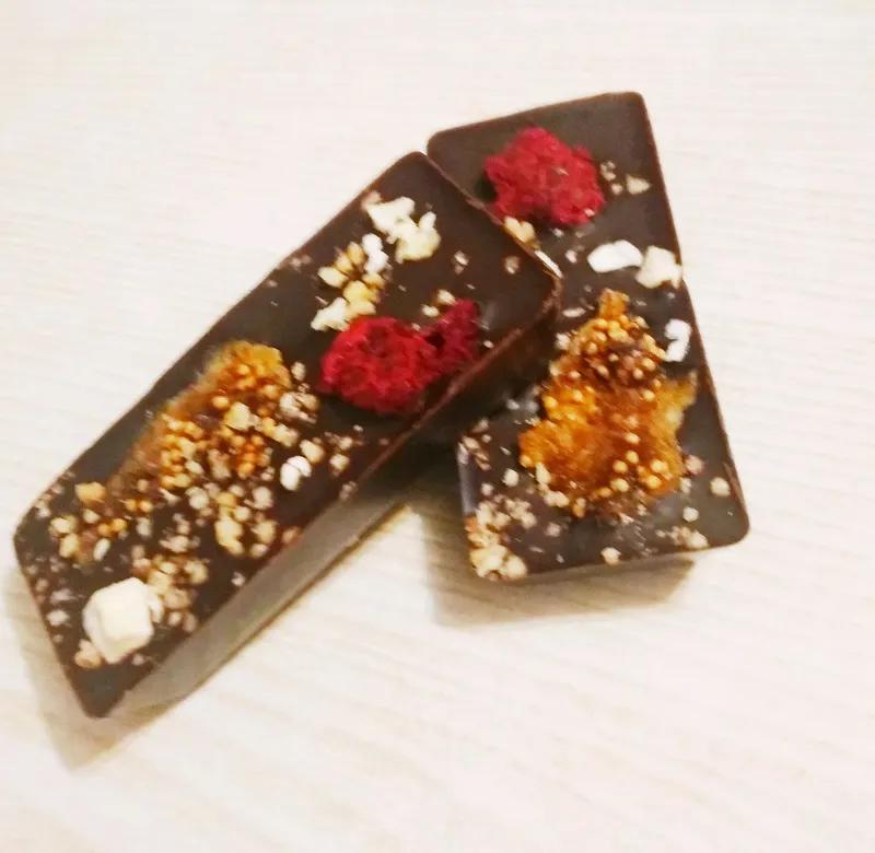Натуральний шоколад та шоколадні цукерки ручної роботи - Фото 12