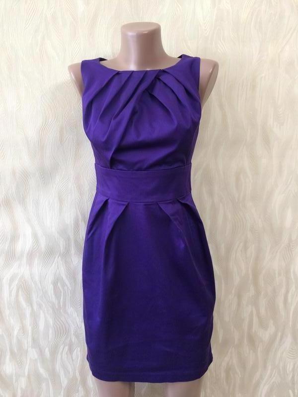 Коттоновое платье благородного цвета