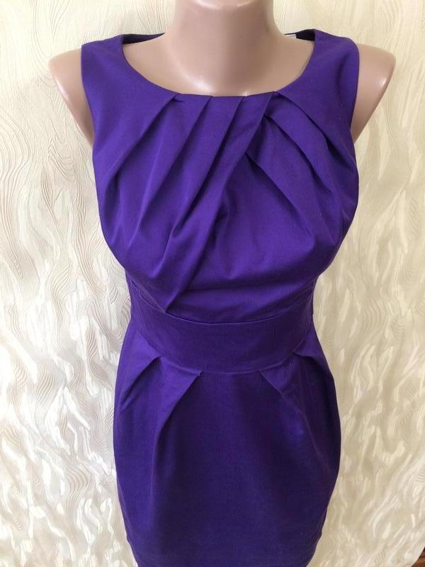 Коттоновое платье благородного цвета - Фото 2