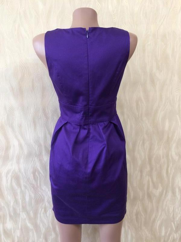Коттоновое платье благородного цвета - Фото 3