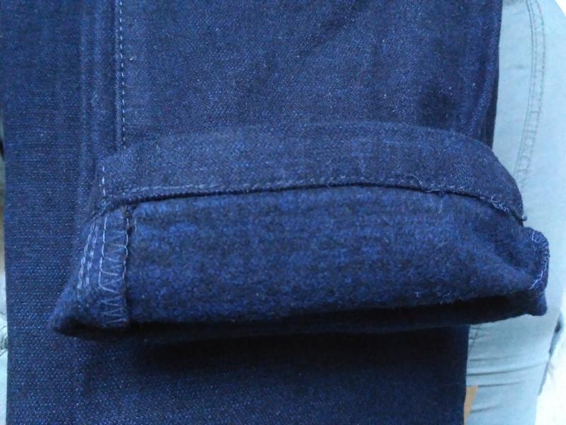Новые синие теплые котоновые брюки для мальчиков в школу. 140 ... - Фото 3
