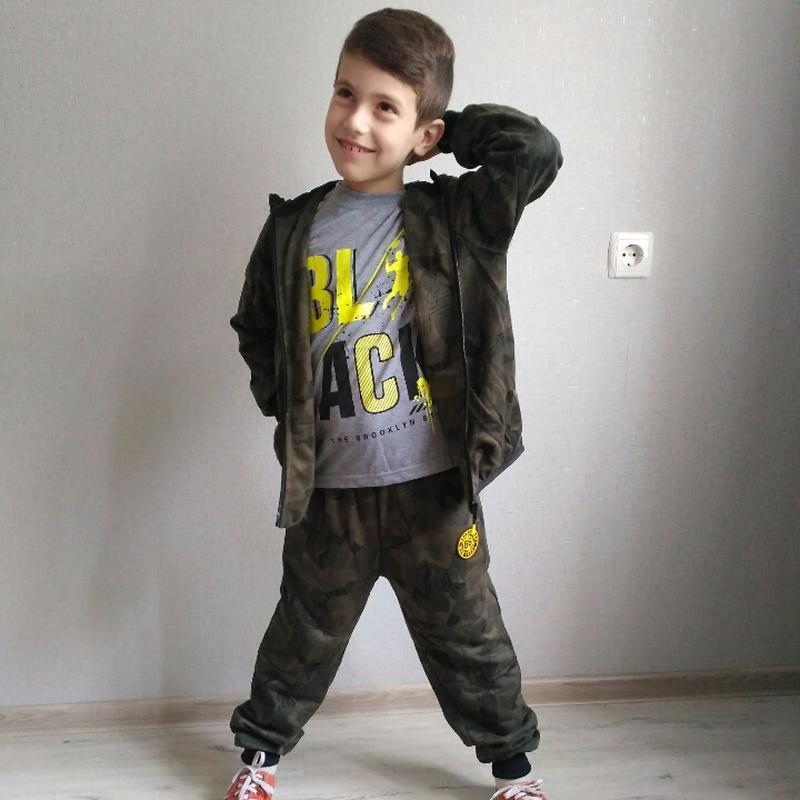 Новый спортивный костюм-тройка для мальчика. венгрия - Фото 4