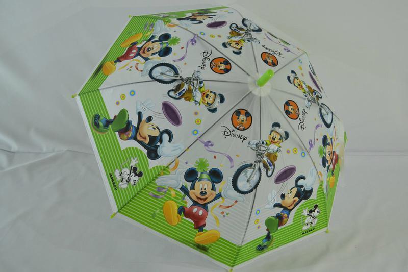 Новый яркий красочный зонтик от 5 до 9 лет микки маус