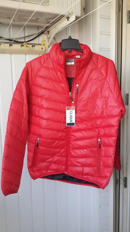 Новая clique оригинал курточка фирменная пуховик размер m