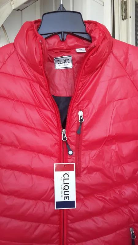 Новая clique оригинал курточка фирменная пуховик размер m - Фото 4