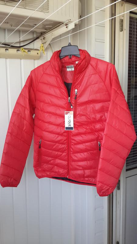 Новая clique оригинал курточка фирменная пуховик размер m - Фото 7