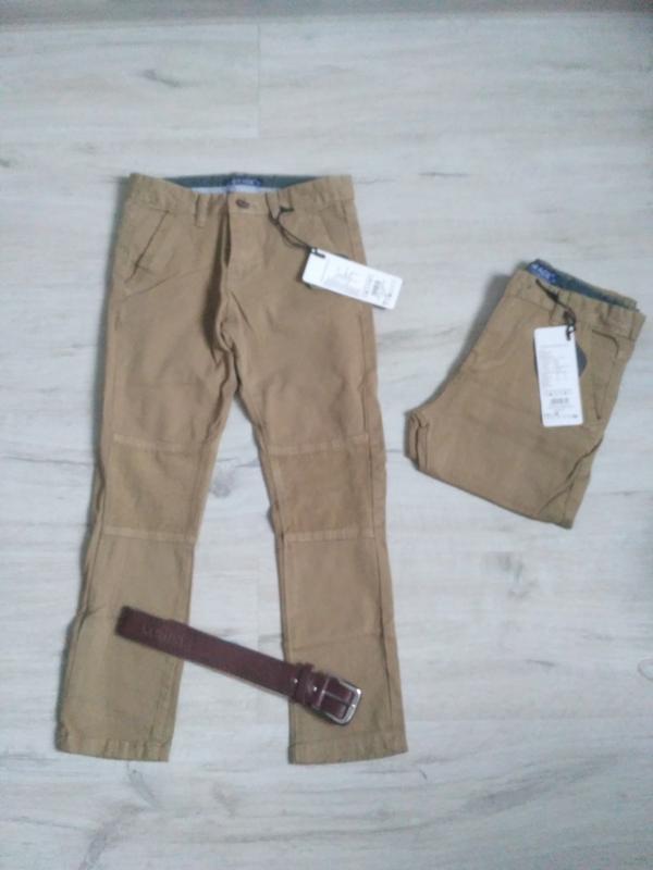 Новые стильные котоновые брючки для мальчика 116-146. венгрия.