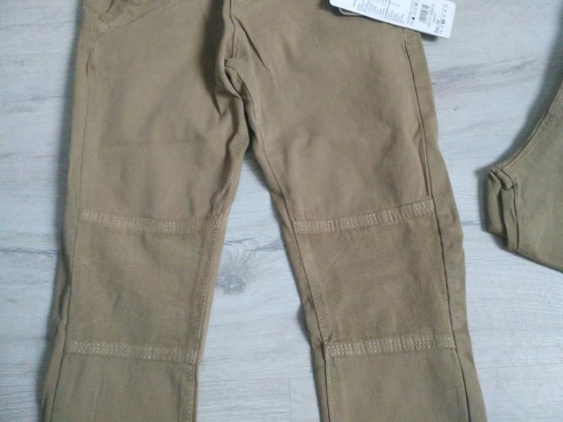 Новые стильные котоновые брючки для мальчика 116-146. венгрия. - Фото 3