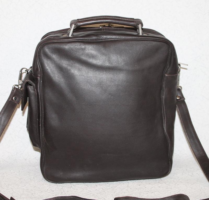 Мужская кожаная сумка petek - Фото 2