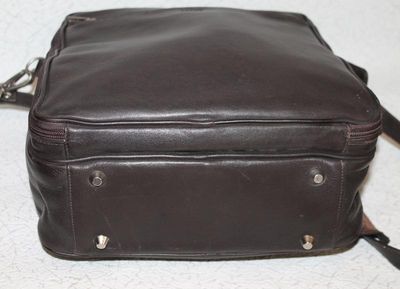 Мужская кожаная сумка petek - Фото 4