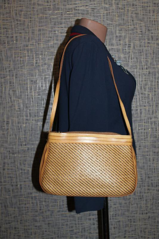 Стильная сумка из натуральной соломки - Фото 2