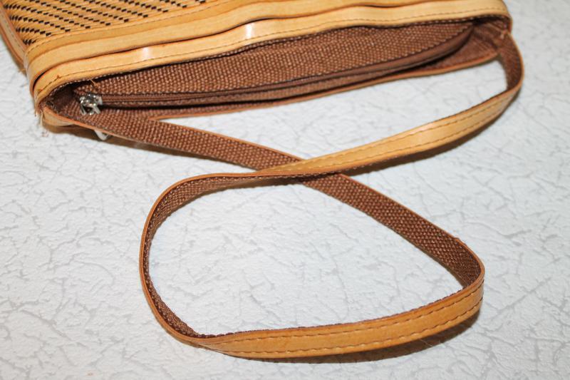 Стильная сумка из натуральной соломки - Фото 4