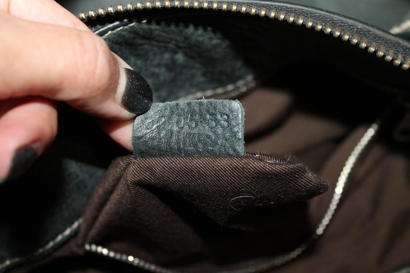 Большая кожаная сумка chloe оригинал,серийный нгмер - Фото 4