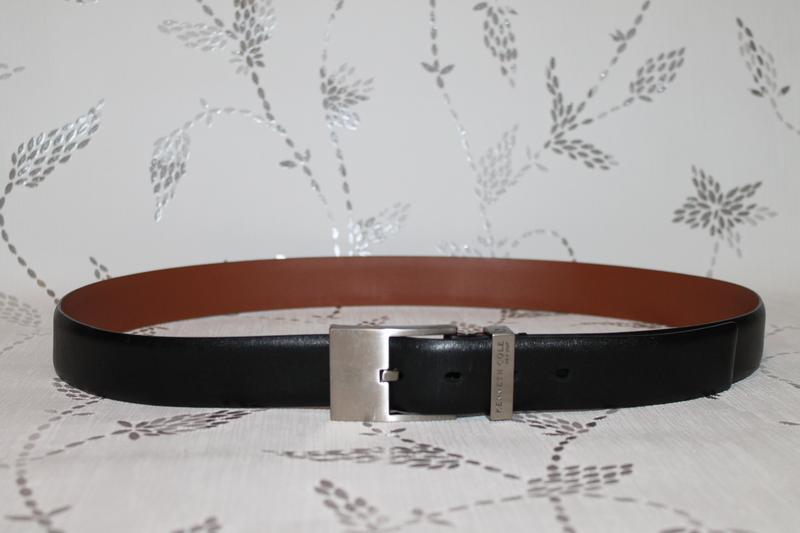Классический кожаный ремень от kenneth cole
