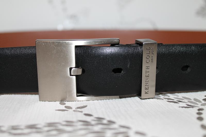 Классический кожаный ремень от kenneth cole - Фото 2