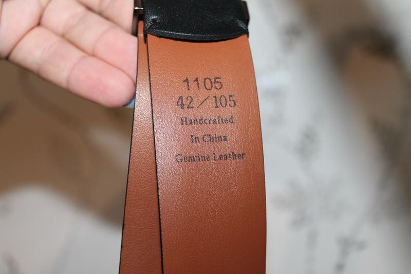 Классический кожаный ремень от kenneth cole - Фото 5