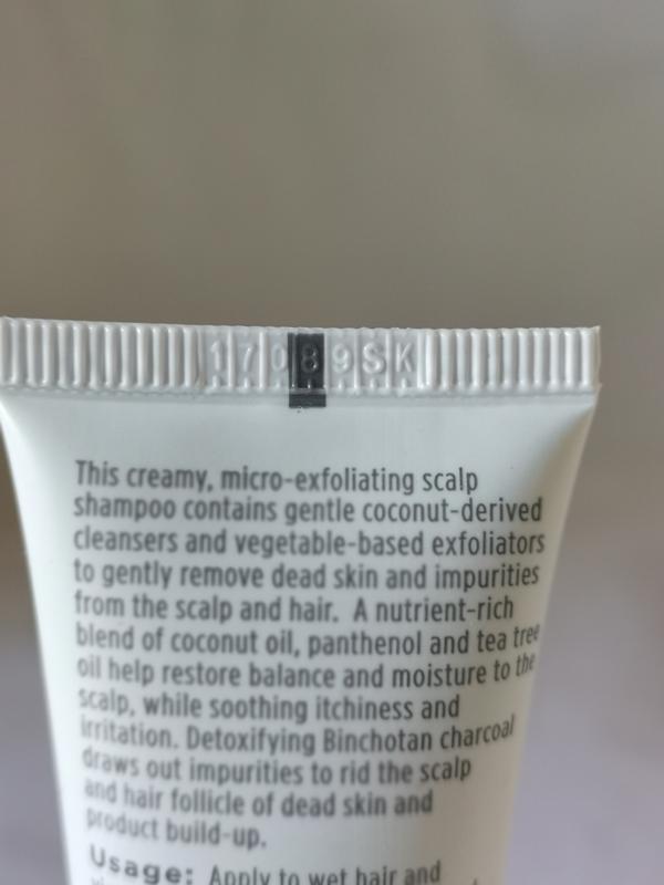 Шампунь briogeo scalp revival charcoal  coconut oil micro-exfo... - Фото 3