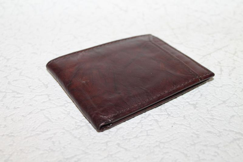 Кожаный кошелек портмоне - Фото 2