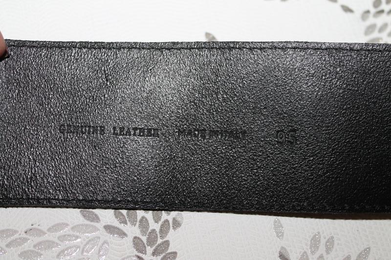 Стильный кожаный пояс с бантом made in italy - Фото 5