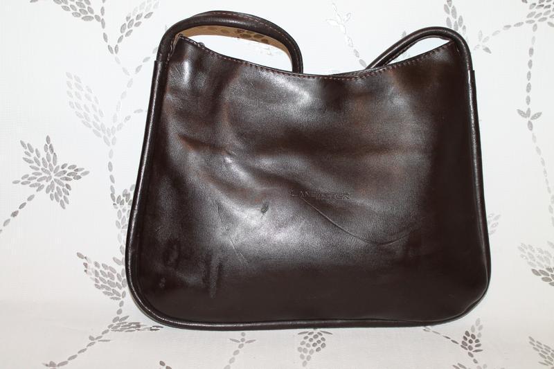 Кожаная сумка lancaster - Фото 2