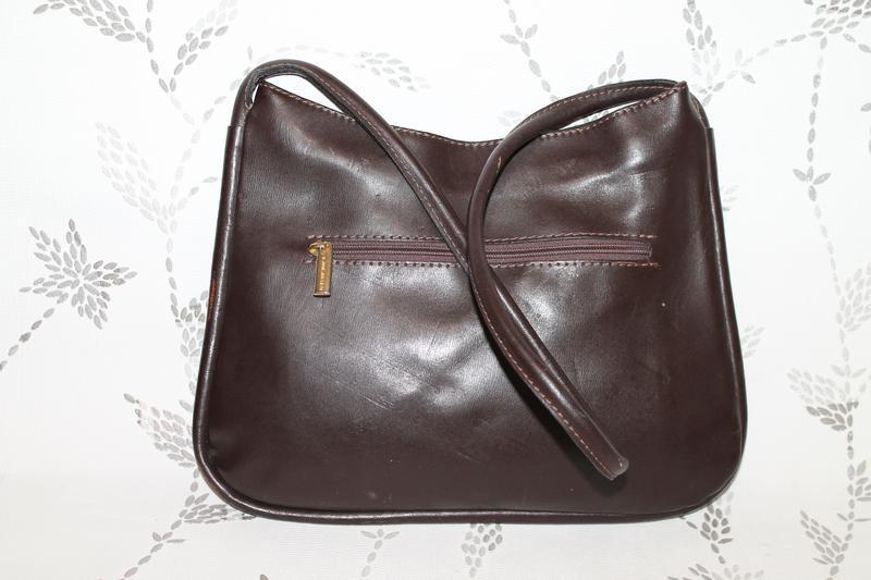 Кожаная сумка lancaster - Фото 3