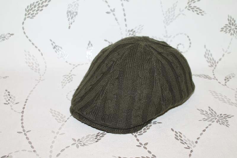 Burberry flat cap вязаная кепка