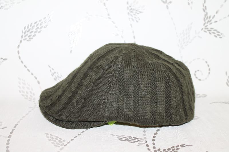 Burberry flat cap вязаная кепка - Фото 2