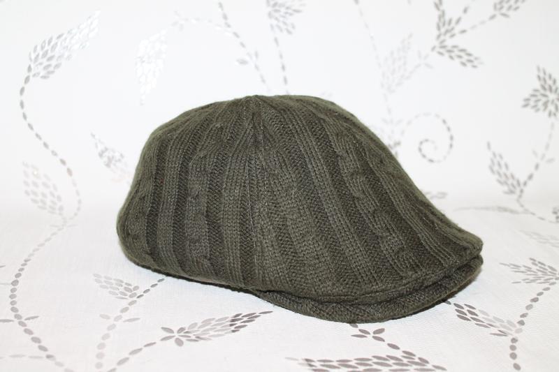 Burberry flat cap вязаная кепка - Фото 3