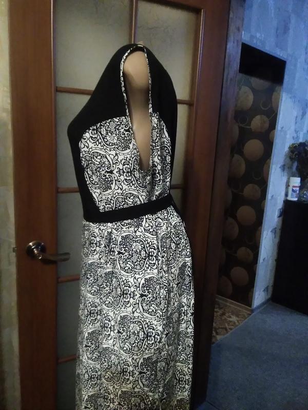 Симпатичное летнее платье, большого размера - Фото 4