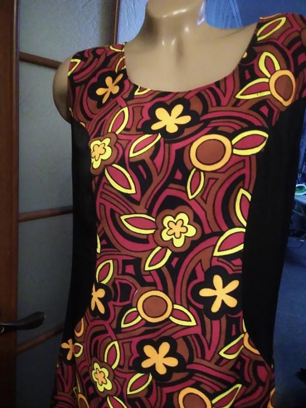 Симпатичное летнее платье, большого размера - Фото 2