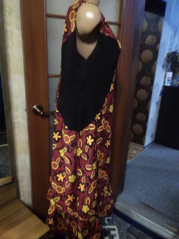 Симпатичное летнее платье, большого размера - Фото 5