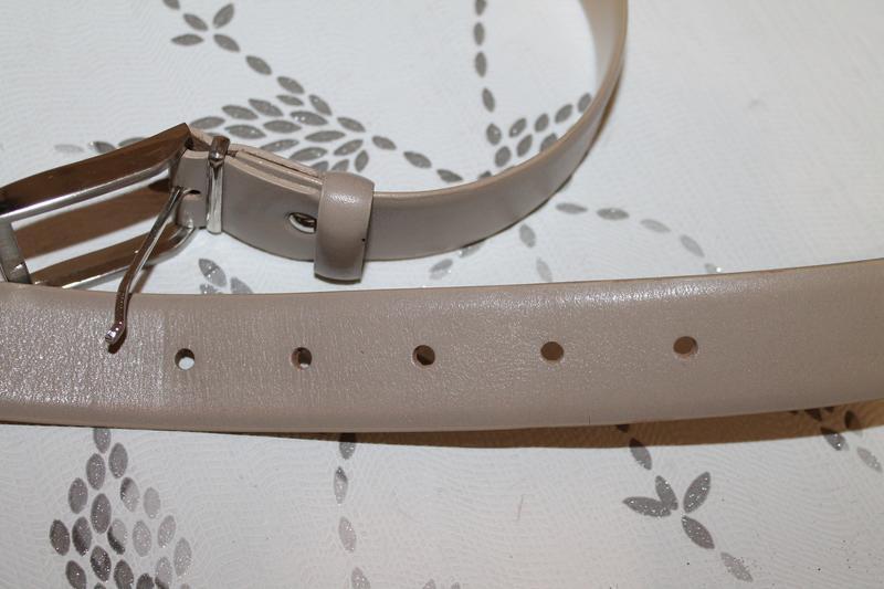 Классический кожаный ремень benvi - Фото 3