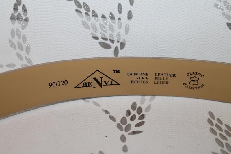Классический кожаный ремень benvi - Фото 4