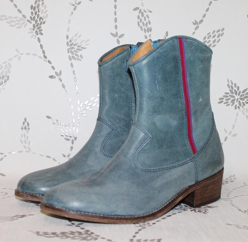 Шикарные кожаные ботинки/полусапожки koel 38 размер 25 см стелька