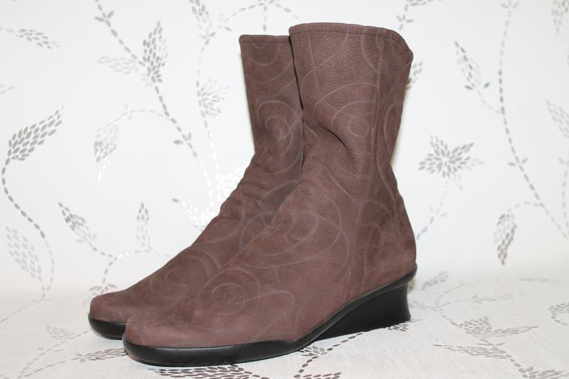 Комфортные кожаные ботинки/полусапожки arche 40 размер 26 см с...