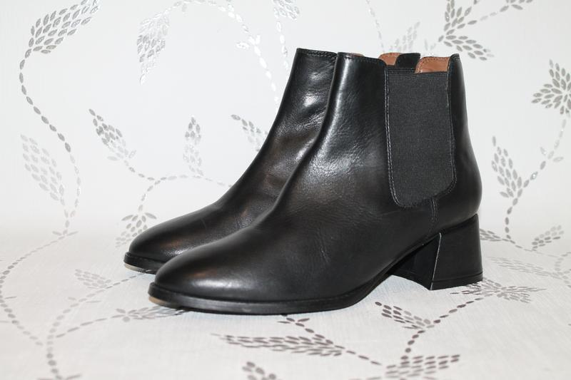 Кожаные ботинки wera stockholm актуального фасона 37 размер 24...