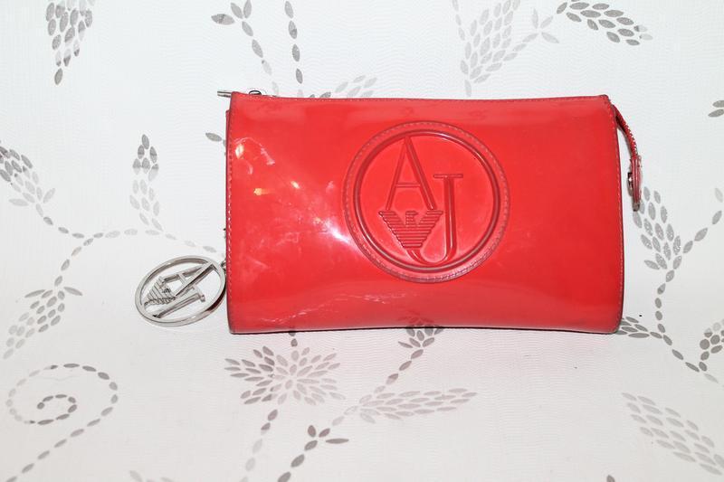 Оригинальный клатч/кроссбоди armani jeans