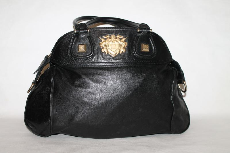 Большая кожаная сумка givenchy - Фото 4