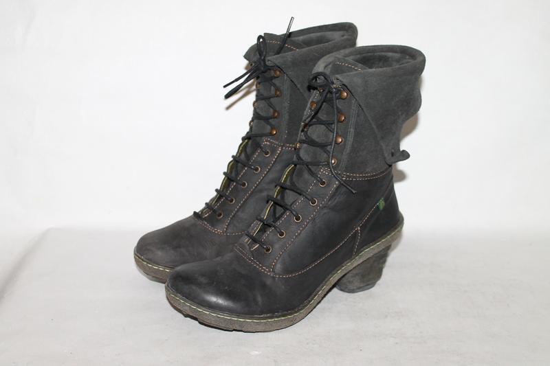 Комфортные кожаные ботинки el naturalista 38 размер