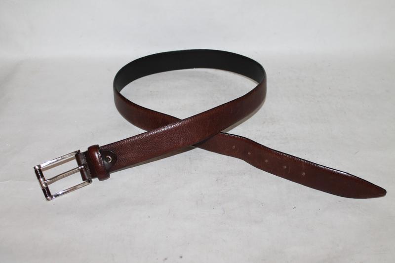 Фирменный кожаный ремень reiss - Фото 3